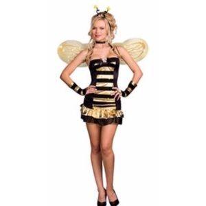 Honey Bee Pixie Costume